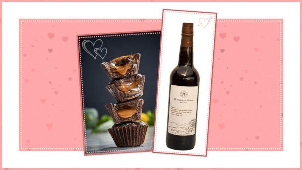 PHOTO: Chocolate and Wine Pairings for Valentines Day: Pair 3 (ABC News Photo Illustration)