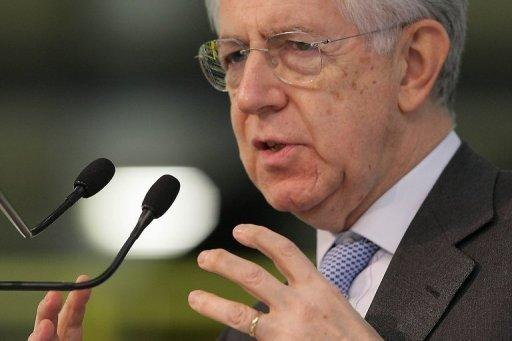 Italy PM Monti resigns, triggering early elections