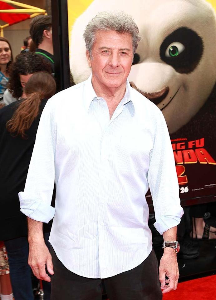 """Dustin Hoffman turns 74. David Livingston/<a href=""""http://www.gettyimages.com/"""" target=""""new"""">GettyImages.com</a> - May 22, 2011"""