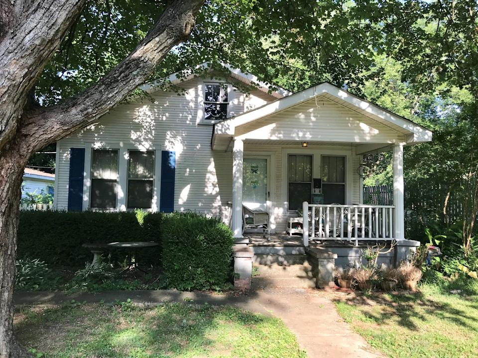 The Athens, Alabama home where Sen. Mitch McConnell lived until the family moved out of state in the third grade