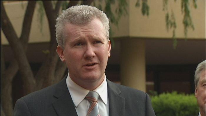 Burke hits out over leaked coal mine document