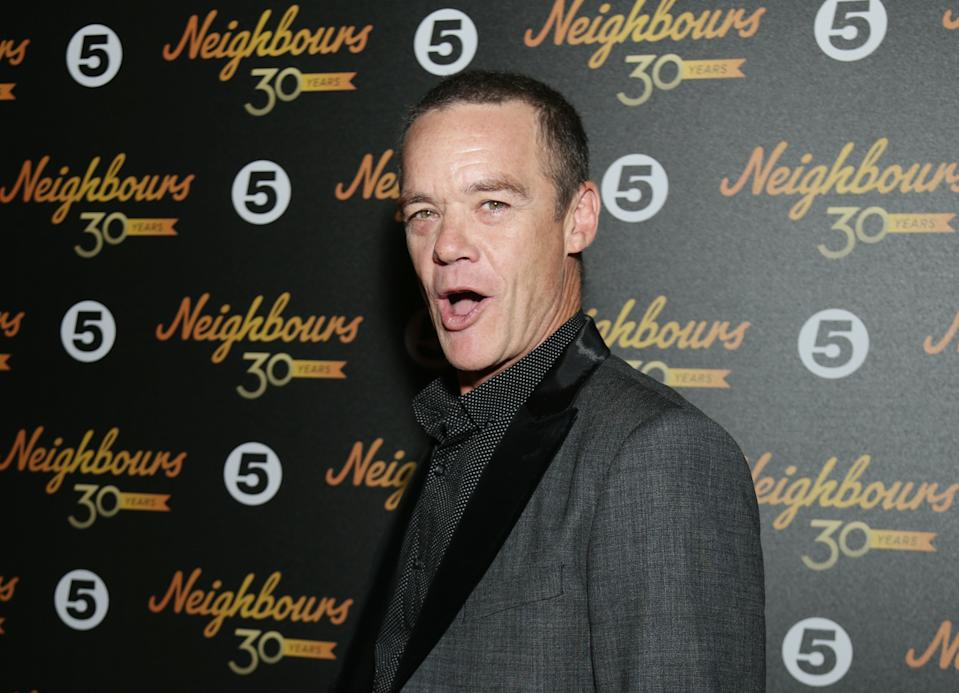 Stefan Dennis attending the Neighbours turns 30 celebration evening at Cafe De Paris, London, as stars of the programme past and present celebrate three decades of the soap opera. PRESS ASSOCIATION Photo. Picture date: Tuesday March 17, 2015. See PA story SHOWBIZ Neighbours. Photo credit should read: Yui Mok/PA Wire
