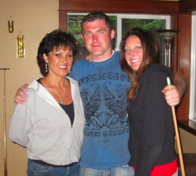 Rhonda Firestack-Harvey (left), her son, Rolland Gregg, and his ex-wife, Michelle Gregg, have been facing prison time for violating federal marijuana law.