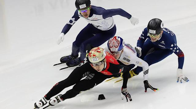 "<p>With the 2018 Winter Olympics in PyeongChang, South Korea fast approaching, here's everything you need to know about short track speed skating. </p><p>Short track speed skating is now one event, but an umbrella term that encompasses four men's and four women's races. Each race takes place on an oval track of ice that is 111.2 meters long, while the entire sheet of ice is 60 meters long and 30 meters wide. </p><p>In PyeongChang, short track competition begins with the men's 1500m qualification heats on Feb. 10 and wraps up with the men's 5000m relay finals on Feb. 23. </p><p>A full schedule of all 10 events can be seen <a href=""https://www.si.com/olympics/2017/10/16/winter-olympics-2018-alpine-skiing-schedule"" rel=""nofollow noopener"" target=""_blank"" data-ylk=""slk:here"" class=""link rapid-noclick-resp"">here</a>. </p><p>In December, SI.com published a <a href=""https://www.si.com/olympics/2017/12/04/2018-Winter-Olympics-Rookies-Guide-Alpine-Skiing-PyeongChang"" rel=""nofollow noopener"" target=""_blank"" data-ylk=""slk:Rookie's Guide to Short Track Speed Skating"" class=""link rapid-noclick-resp"">Rookie's Guide to Short Track Speed Skating</a> with information about each specific event, including the rules, history, 2014 medal winners and current world champion. </p><p>The short track races put a premium on explosiveness and strategy, but the skaters' synchronized movements and long, smooth strides give the competition an element of elegance. Speed skating is the quintessential Winter Olympic sport—it's nearly impossible not to enjoy, but it's also highly unlikely that you'll watch any non-Olympic action. So now is the perfect time to brush up before you get your fill that'll last you four years.</p><p>In the January 29-February 5 Olympic Preview issue of <em>Sports Illustrated</em>'s magazine, our expert Brian Cazeneuve gave his medal predictions. Here are his picks for short track speed skating:</p><h3>MEN</h3><p><strong>500 Meters</strong><br>? Wu Dajing, China<br>? Shaolin Sándor Liu, Hungary<br>? Samuel Girard, Canada<br><em>Wu says his sports hero is Michael Phelps.</em></p><p><strong>1,000 Meters</strong><br>? Shaolin Sándor Liu, Hungary<br>? Wu Dajing, China<br>? Hwang Dae-heon, South Korea<br><em>Sándor's girlfriend is Elise Christie.</em></p><p><strong>1,500 Meters</strong><br>? Hwang Dae-heon, South Korea<br>? Charles Hamelin, Canada<br>? Sjinkie Knegt, Netherlands<br><em>In 2014, Knegt became the first Dutch person to win a short-track medal.</em></p><p><strong>5,000-Meter Relay</strong><br>? South Korea<br>? Canada<br>? Netherlands<br><em>The U.S. team could nab a medal.</em></p><h3>WOMEN</h3><p><strong>500 Meters</strong><br>? Choi Min-jeong, South Korea<br>? Marianne St-Gelais, Canada<br>? Elise Christie, Great Britain<br><em>South Korea has never won gold or silver at 500.</em></p><p><strong>1,000 Meters</strong><br>? Choi Min-jeong, South Korea<br>? Kim Boutin, Canada<br>? Elise Christie, Great Britain<br><em>Christie has dyed her hair a dozen different colors before events.</em></p><p><strong>1,500 Meters</strong><br>? Choi Min-jeong, South Korea<br>? Shim Suk-hee, South Korea<br>? Kim Boutin, Canada<br><em>In 2015, Choi was world champ at age 16.</em></p><p><strong>3,000-Meter Relay</strong><br>? South Korea<br>? China<br>? Canada<br><em>All but five of South Korea's 26 winter golds have come in short track.</em></p><p>Check out the rest of Brian's medal predictions for all 102 events in the magazine.</p>"