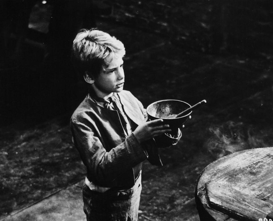 "Mark Lester in ""Oliver"" 1968   (Photo by RDB/ullstein bild via Getty Images)"