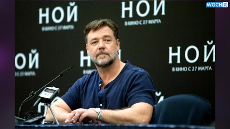 No pope meeting for Russell Crowe, 'Noah' makers
