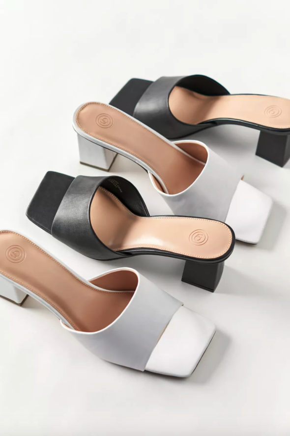 """<br><br><strong>UO</strong> Cici Square Toe Mule Sandal, $, available at <a href=""""https://go.skimresources.com/?id=30283X879131&url=https%3A%2F%2Fwww.urbanoutfitters.com%2Fshop%2Fuo-cici-square-toe-mule-sandal"""" rel=""""nofollow noopener"""" target=""""_blank"""" data-ylk=""""slk:Urban Outfitters"""" class=""""link rapid-noclick-resp"""">Urban Outfitters</a>"""
