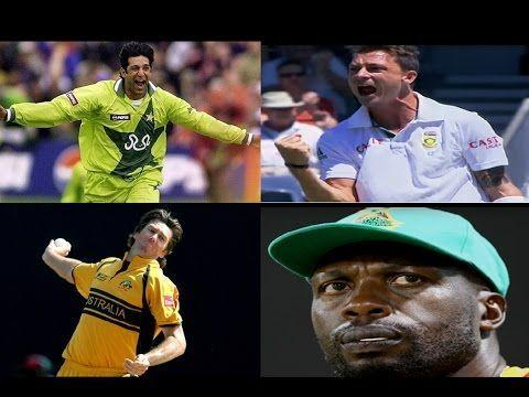 The current bowlers in the world seem to be much below the past bowling attacks.