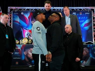 Jarrel Miller denied boxing license over failed drug test ahead of bout with Great Britain's Anthony Joshua