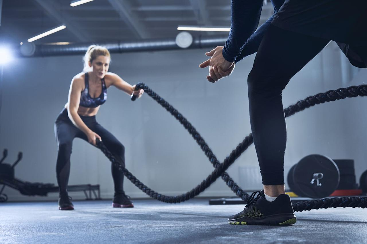 """<p>Personal training is not for the faint of heart, and certainly takes exercise to a new level. If you've tried a P90X DVD and found yourself pushing the pause button, get ready to match that with your personal trainer (likely without the pause break).<br></p><p>Your personal trainer will push your body to its breaking point, watching you lift, plank and squat more than you ever expected. It's natural to want to stop, to listen to that voice in your head that's screaming, """"I'm done! I can't do this for 10 more seconds!"""" This is where your personal trainer will show his weight in gold. He will know what you can really do and make sure that you're doing it. </p><p>You may be surprised to see how much harder you want to work once you find the right trainer. """"Psychologically, there seems to be something that makes you want to or try to perform at a higher level,"""" says Charlene Bazarian, who shares her weight loss story at <a href=""""http://fbjfit.com/"""" target=""""_blank"""">fbjfit.com</a>. """"I found that I always pushed myself much harder when I would train with my personal trainer, than when I would work out alone. I found myself wanting to make my trainer proud of how hard I was working, as well as not to be perceived as not capable or as out of shape as I probably was when I started. I found this really had an impact on my motivation level and effort.""""<br></p>"""