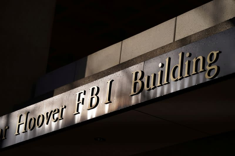 FILE PHOTO: The FBI building is seen in Washington