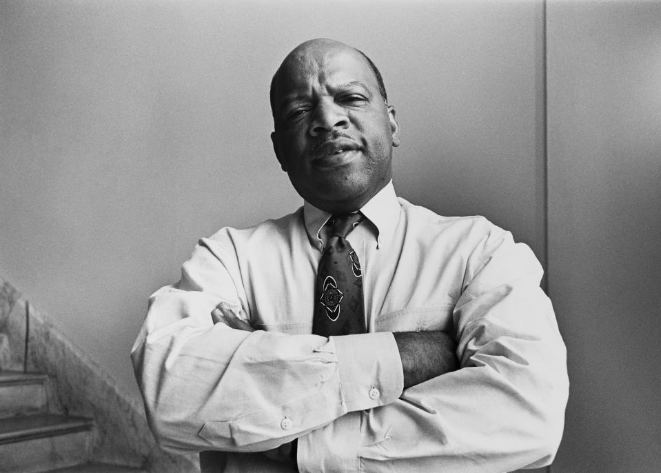 Rep. John Lewis, D-Ga., in August 1991. (Photo: Laura Patterson/CQ Roll Call via Getty Images)