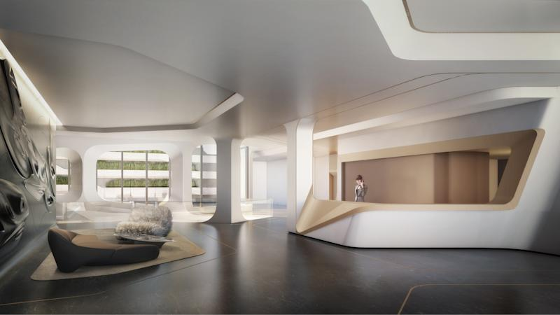 Two designers have outfitted the late architect's highly anticipated 520 West 28th Street