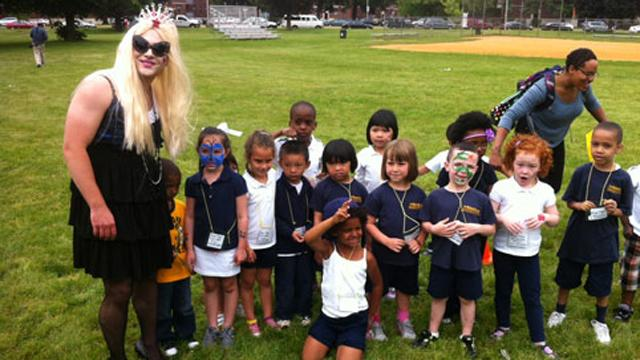 Lady Gaga Costume Is Principal's Promise in Reading Challenge