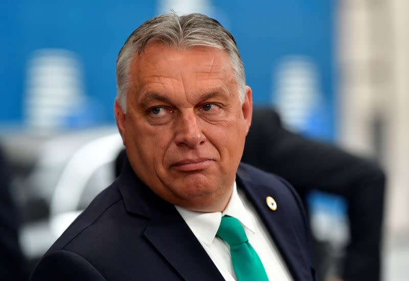 Hungary's Orban says EU should reverse Russia sanctions, not push Cyprus on Belarus
