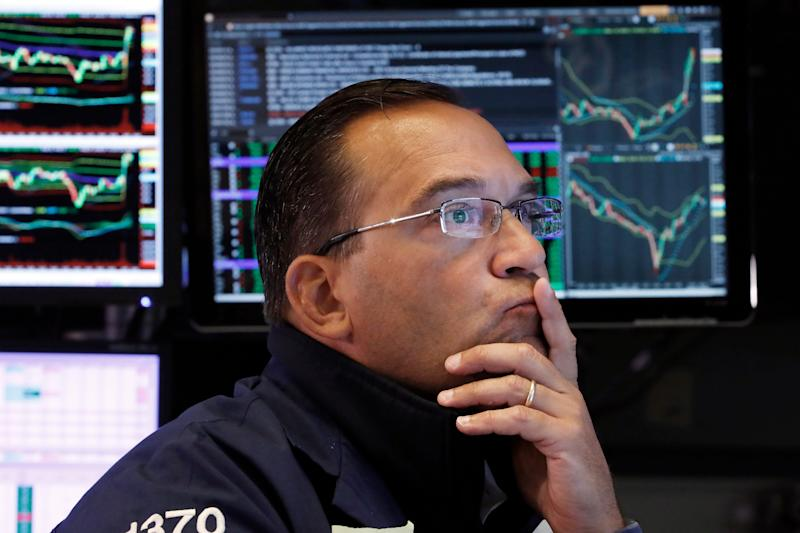 Wall Street's fallout in August -- and its quick rebound -- have savers worried about what to do next with their 401(k) plans. File photo: Specialist Anthony Matesic works on the floor of the New York Stock Exchange Aug. 16, 2019. (AP Photo/Richard Drew)