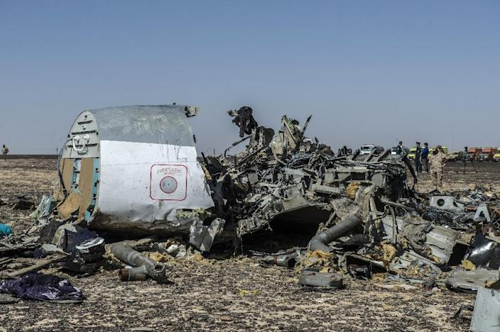 IS militants in Sinai claim they downed the jet in retaliation for Russian air strikes targeting its jihadists in Syria (AFP Photo/Khaled Desouki)