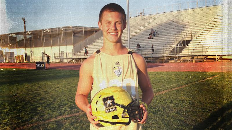 Kyle Allen was the top-rated pro-style quarterback coming out of high school. (Photo courtesy of the Allen family)