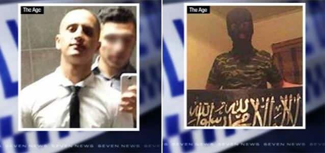 Police had been monitoring 18-year-old Numan Haider for a number of months before he was shot dead after stabbing police officers multiple times. Photo: 7News/The Age