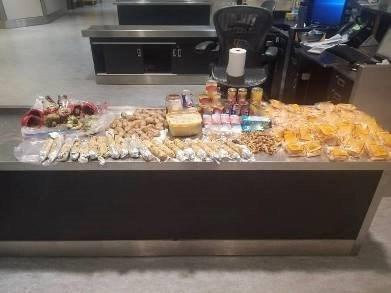 Border services officers at Toronto Pearson International Airport seized prohibited goods from Asia.
