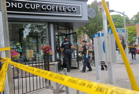Danforth shooting victims remain in critical condition, hospital says