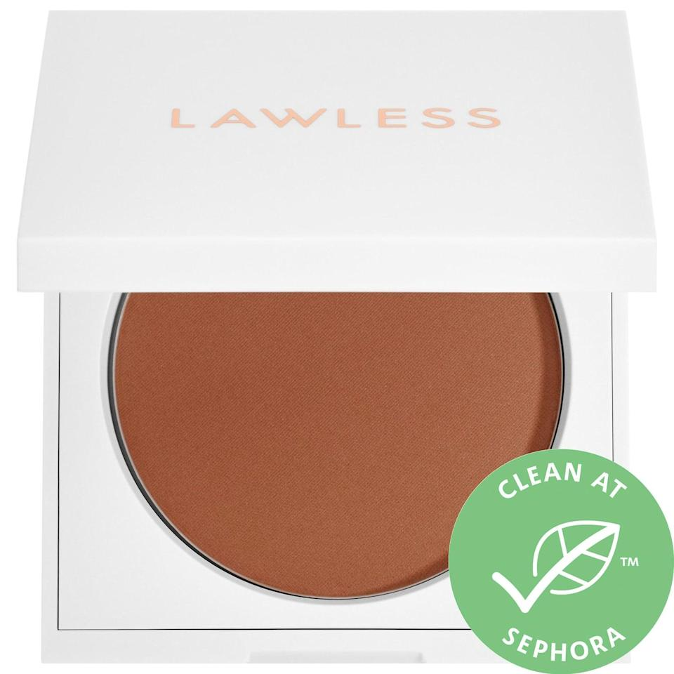 <p>If you're looking for a clean bronzer, try this <span>Lawless Summer Skin Velvet Matte Bronzer</span> ($38).</p>