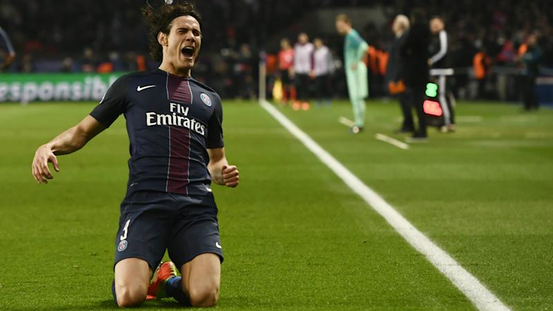 HD Edinson Cavani PSG Barcelona Champions League 14022017