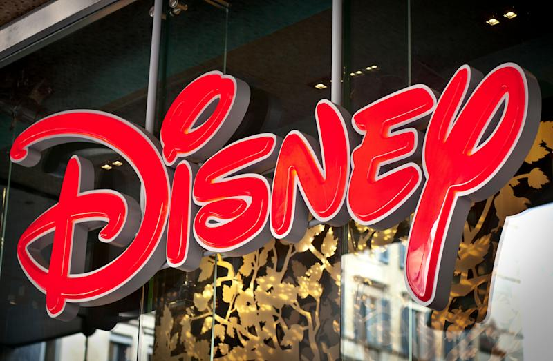 'Milan, Italy - March 19, 2012: Disney Logo On Shop Window.'