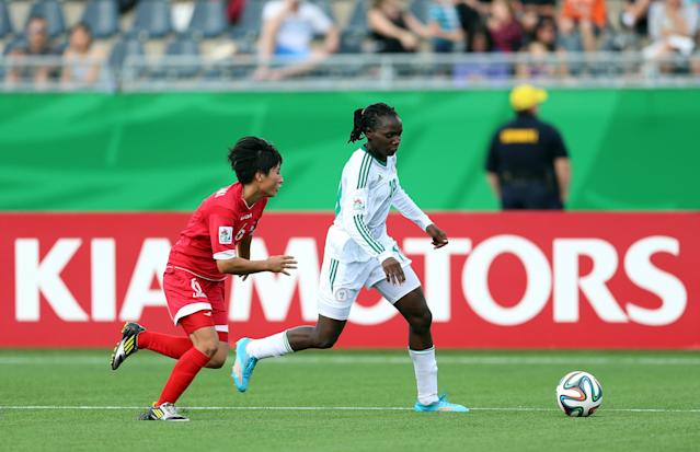 The Nigerian's side were rewarded with a clash against the holders after Monday's draw in Nyon