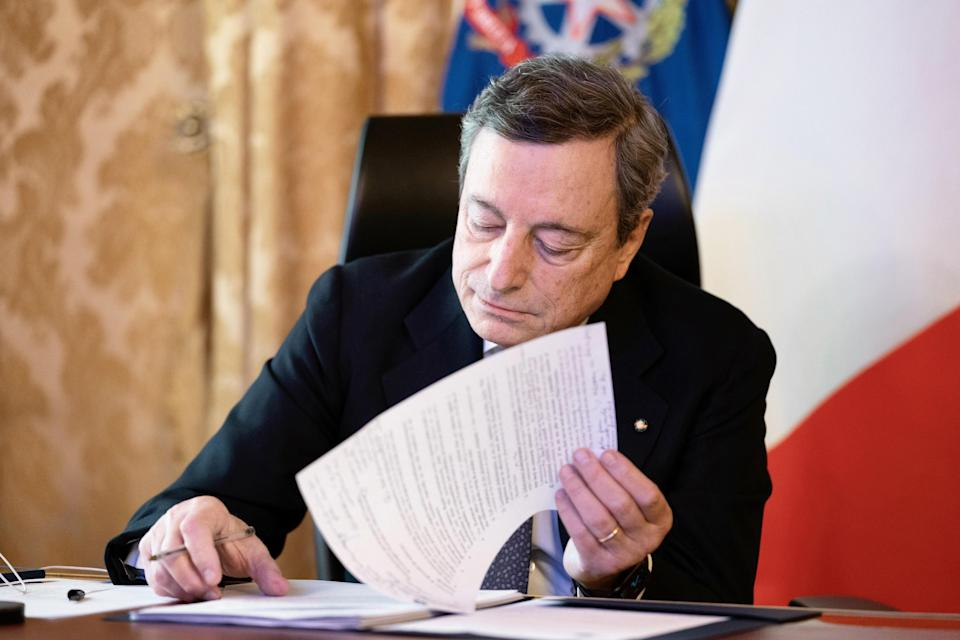 Draghi (Photo: ansa)