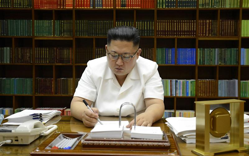 North Korean leader Kim Jong-un has engaged in a war of words with the US - AFP