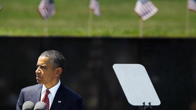 Obama Recalls Vietnam Vets' Treatment as 'National Shame'