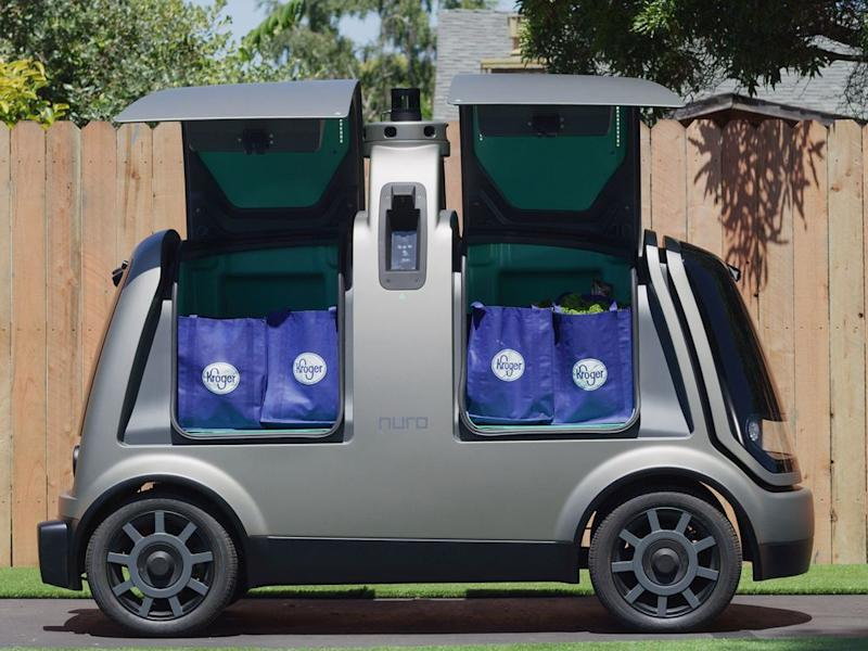 The service currently uses Toyota Prius hybrids, but a smaller, unmanned vehicle is coming later this year.