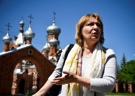 Former conservative lawmaker  Svetlana Khokhlova says the country's youth have become victims of 'anti-Russian propaganda'