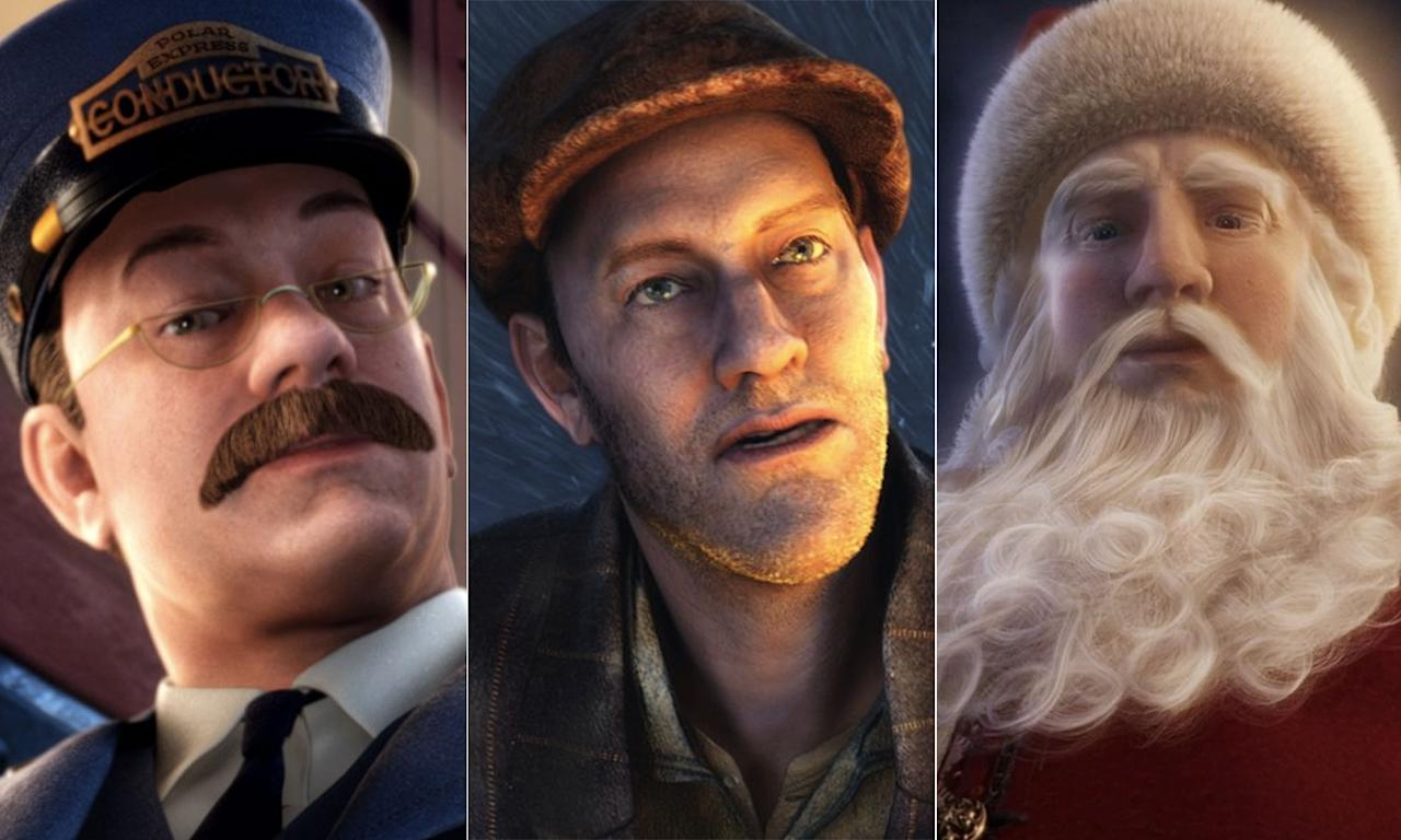 <p>Tom Hanks plays SIX different roles in 'The Polar Express' through the magic of performance capture – Hero Boy, Hero Boy's father, the Conductor, the Hobo, Santa Claus, and the Narrator. </p>