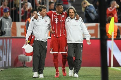 Germany defender Jerome Boateng is a doubt for the World Cup after suffering a thigh injury in the Champions League semi-final against Real Madrid
