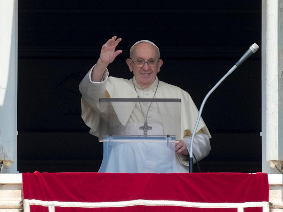 Radio station claims the pope vetted programme's contents before it aired (AP)