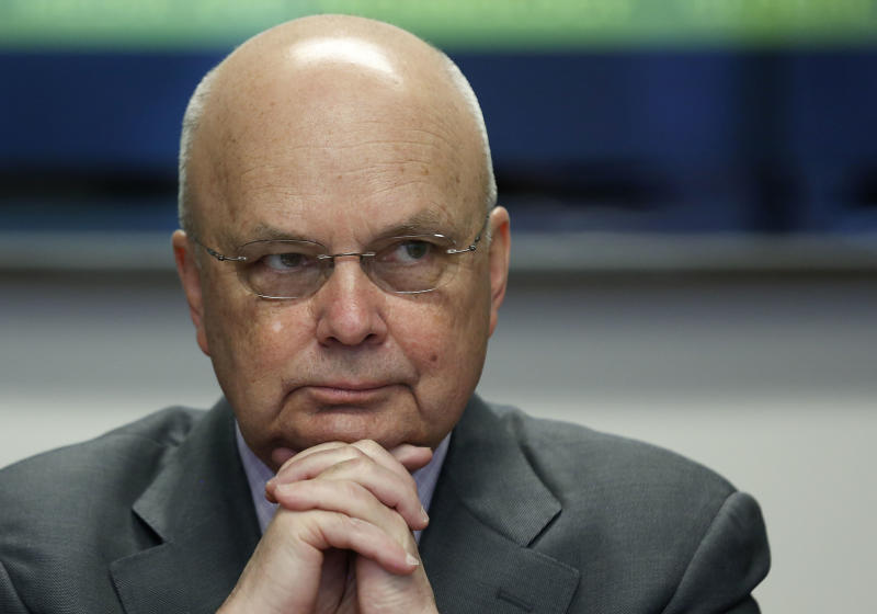 Michael Hayden, former director of the CIA and NSA, has long been a critic of President Donald Trump. (Larry Downing / Reuters)