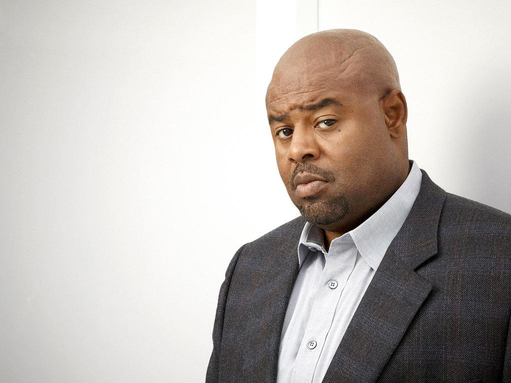 "Chi McBride returns as Winston in ""Human Target."""