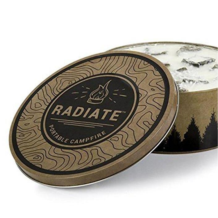 """<p><strong>Radiate</strong></p><p>amazon.com</p><p><strong>$27.99</strong></p><p><a href=""""https://www.amazon.com/dp/B073QXYW38?tag=syn-yahoo-20&ascsubtag=%5Bartid%7C2139.g.19521968%5Bsrc%7Cyahoo-us"""" rel=""""nofollow noopener"""" target=""""_blank"""" data-ylk=""""slk:BUY IT HERE"""" class=""""link rapid-noclick-resp"""">BUY IT HERE</a></p><p>Any <a href=""""https://www.menshealth.com/technology-gear/g19519763/best-gifts-men-adventure-outdoors/"""" rel=""""nofollow noopener"""" target=""""_blank"""" data-ylk=""""slk:outdoor enthusiast"""" class=""""link rapid-noclick-resp"""">outdoor enthusiast</a> can appreciate an easy way to light a fire in the wilderness over the caveman option of sticks and stones. With a shelf life of 30 years (yes, you read that right), you'll get a lot of bang (or fire) for your bucks with this affordable fire starter. </p>"""