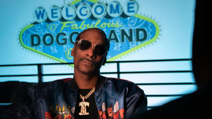 Snoop Dogg appears in the documentary series 'Hip Hop Uncovered'. (FX/Disney)