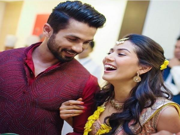 Celebrity couple Shahid and Mira Kapoor (Image Source: Instagram)