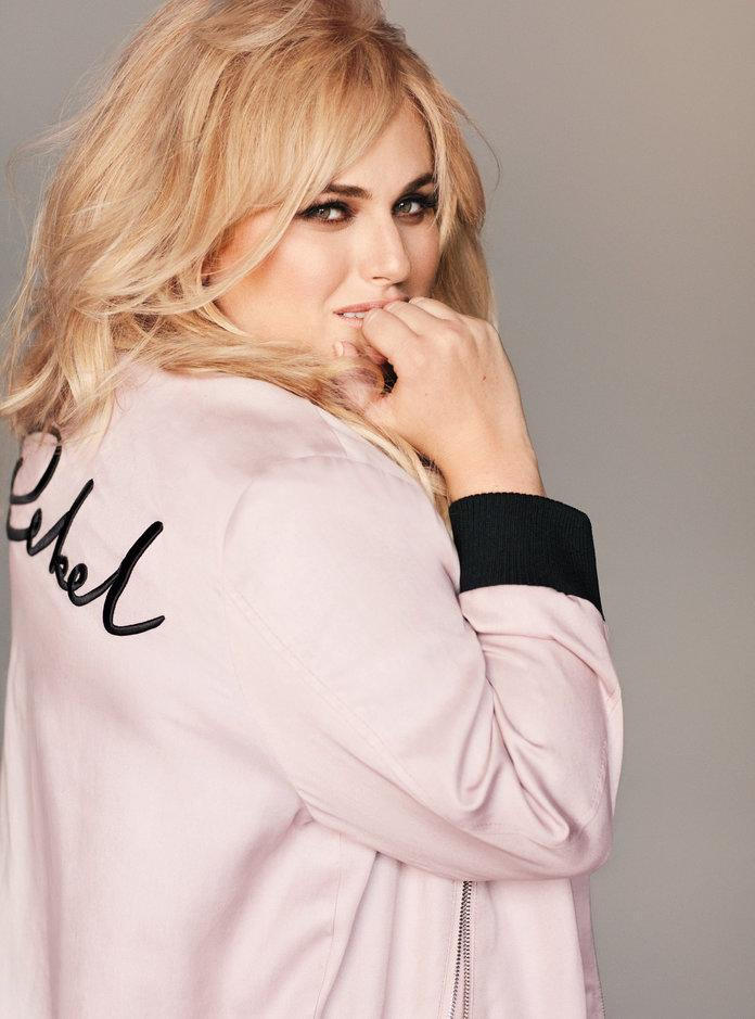 Get the scoop on Wilson's creative spirit and her new collection of clothes for curvy girls Rebel Wilson x Angels.