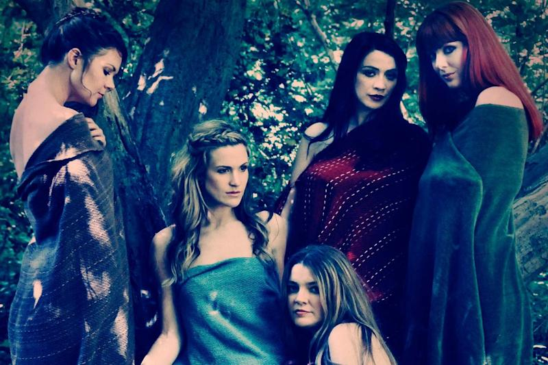 Second from right In Mediaeval Baebes (Nicole Froubish)