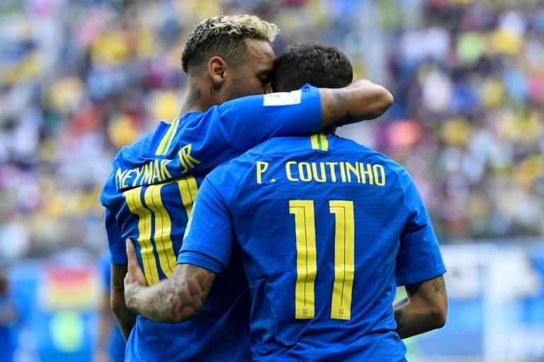 World Cup starters Neymar and Philippe Coutinho are in a powerful Brazilian squad for two North American friendlies