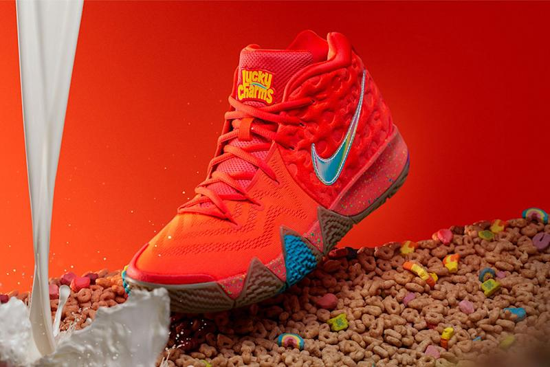 d3b40845580 Nike Serves the Kyrie 4  Cereal Pack  With Lucky Charms