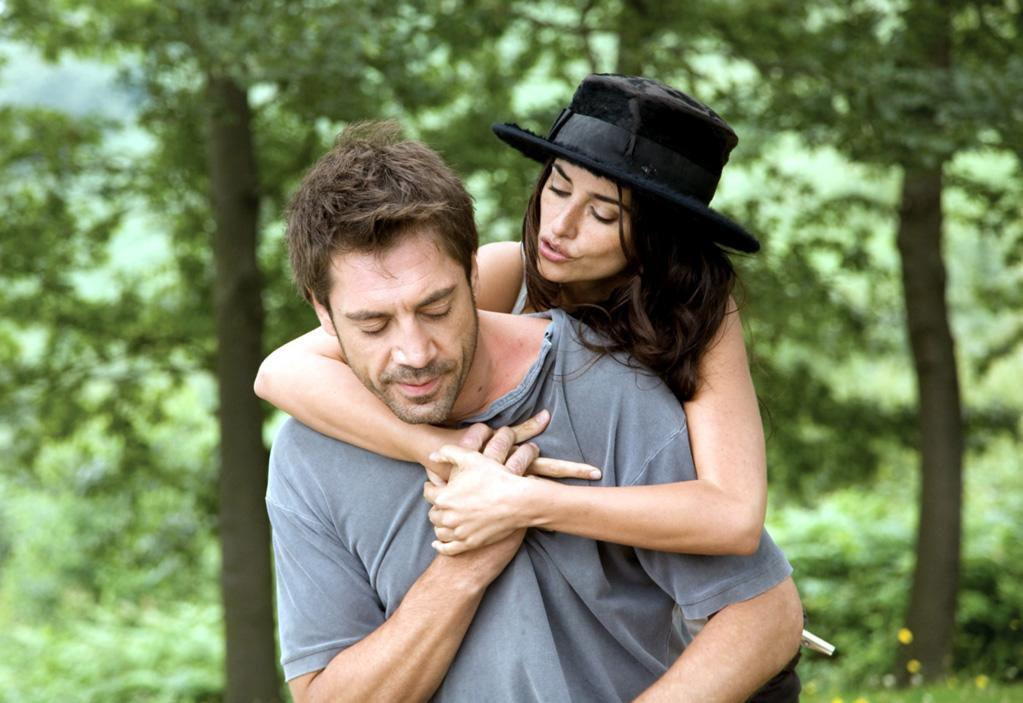 """<a href=""""http://movies.yahoo.com/movie/contributor/1800019548"""">PENELOPE CRUZ</a> & <a href=""""http://movies.yahoo.com/movie/contributor/1800023079"""">JAVIER BARDEM</a>  MOVIE: <a href=""""http://movies.yahoo.com/movie/1809912195/info"""">Vicki Cristina Barcelona</a> (2008)   After high-profile break-ups with former costars Tom Cruise and Matthew McConaughey, it's no surprise that Penelope Cruz would want to keep her relationship to fellow Spaniard Javier Bardem under wraps. Both refused to answer questions about their rumored engagement last year, with Cruz <a href=""""http://www.people.com/people/article/0,,20320660,00.html"""">telling David Letterman</a>, """"I don't give details about [my personal life] because I am allergic to that."""""""