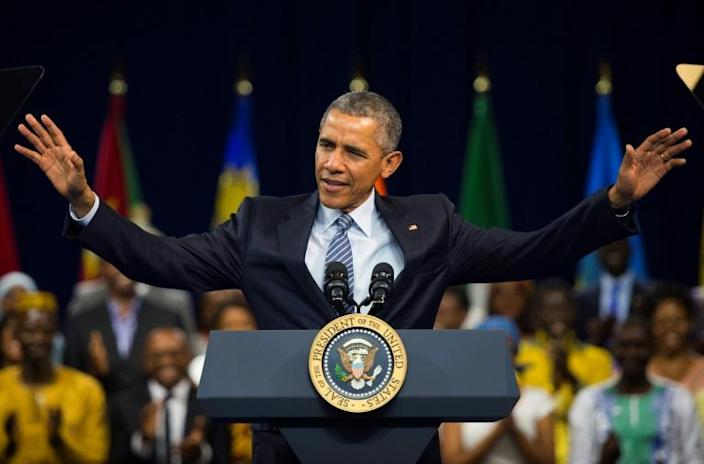 Africans had placed high hopes on Barack Obama -- the first black president of the United States