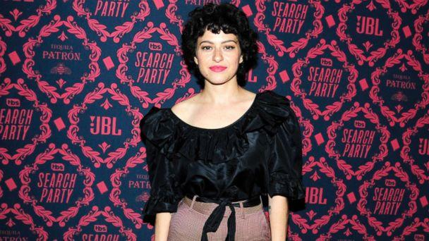 PHOTO: Alia Shawkat attends the premiere of 'Search Party' at Public Hotel, Nov. 8, 2017, in New York City. (Paul Bruinooge/Patrick McMullan via Getty Image)