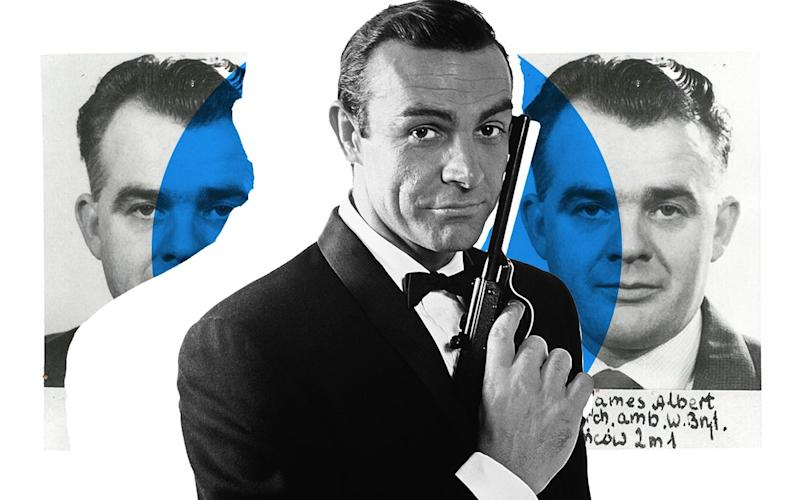 James Bond 007 and his real-life counterpart